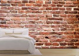 Stone Wall Mural Wall26 Background Of Brick Wall Texture The Red Brick Wall Of A