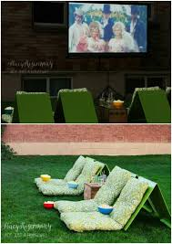How To Make A Backyard Movie Theater 80 Brilliant Diy Backyard Furniture Ideas That Will Give Your