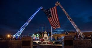 Blue Lights For Firefighters U S Landmarks To Light The Night For Fallen Firefighters Nfff