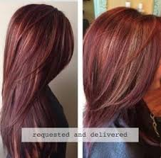 mahoganey hair with highlights how to rich red hair color with golden caramel highlights by