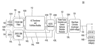 patent us7859874 universal ac or dc aircraft device power supply