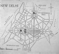 New Delhi India Map by New Delhi Map Plan Madras Presidency Arts Typefaces Pinterest