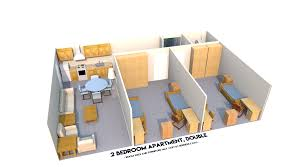 Floor Plans For Apartment Buildings by Henderson Apartments Residence Life