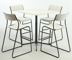 Lifetime Bistro Table Lifetime Bistro Bar Height Stool 14 Pack White