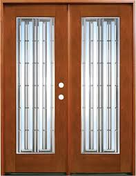 interior extraordinary decorative wooden interior double doors