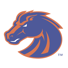 Bronco Flag Boise State Broncos U2014 Worldvectorlogo