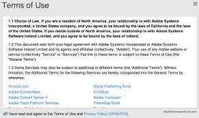 terms of use adobe creative cloud lopsided agreement