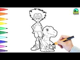 coloring pages digimon colouring book fun coloring videos