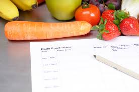write down what you eat and lose weight