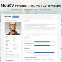 Resume Html Template Personal Archives Dci Marketplace Marketplace For Virtual Exchange