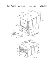 patent us4823554 vehicle thermoelectric cooling and heating food