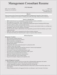 Consultant Resume Samples by Management Consulting Resume Examples For Microsoft Word