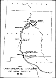 Las Vegas New Mexico Map by Fort Union Nm Fort Union And The Frontier Army In The Southwest