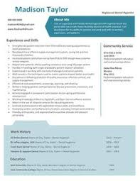 Dental Hygiene Resume Sample by This Week U0027s Highlighted Dental Hygiene Resume Template Gina