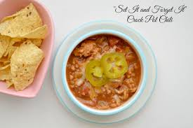 set it and forget it crock pot chili