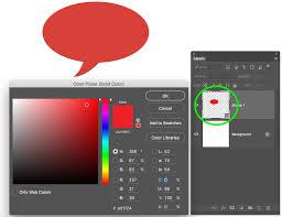 speech bubbles photoshop cc custom shape