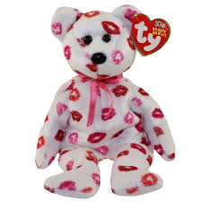 kissy kissy halloween ty beanie baby kissy the bear 9 inch bbtoystore com toys