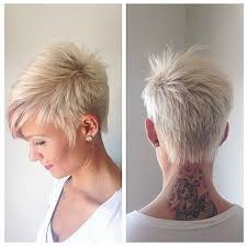 Frisuren Kurz Damen Blond by Tolle Kurzhaarfrisuren Für Frauen Die Sich Trauen Sich