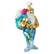 radko ornaments surf sun ornament king neptune