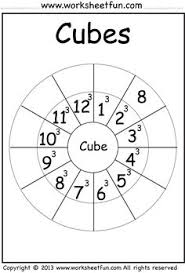 square and cube roots google search education pinterest