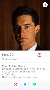 Seeking Tinder Episode No Spoilers I Found Cooper On Tinder Twinpeaks