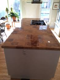 reclaimed barn beam end grain counter top 30x72 or