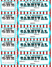 carnival circus birthday party u0026 free printables clipart best
