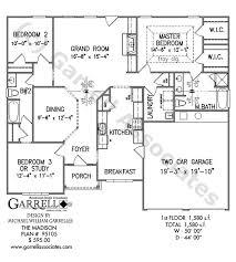 One Madison Floor Plans Madison House Plan House Plans By Garrell Associates Inc