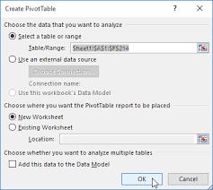 Change Pivot Table Data Range Pivot Tables In Excel Easy Excel Tutorial