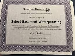 select basement waterproofing new jersey