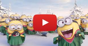 minions christmas video learntoride co
