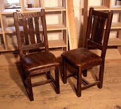Mission Oak Dining Chairs Upholstered Oak Dining Chairs Oak Wood Back Ladder Dining Chairs