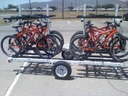 small light cer trailers bicycle trailers bike rack trailer magnetatrailers com