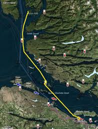 Desolation Sound Map Airship To Alaska Day 10 Fury Cove To Shearwater Bc U2013 Riveted