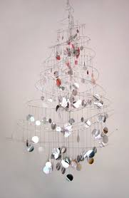 French Wire Chandelier Julian Casablancas Commissions A Wire Sculpture Christmas Tree