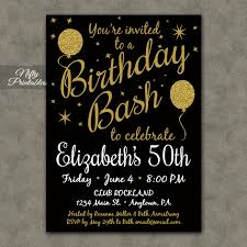 50th birthday invitations for her 50th birthday invitations for