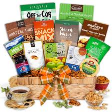 healthy food gift baskets healthy gift basket premium by gourmetgiftbaskets