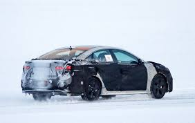 2018 hyundai sonata facelift spied cold weather testing