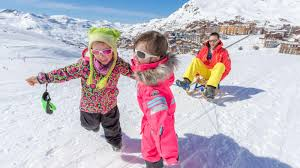 val thorens ski resort skiing val thorens