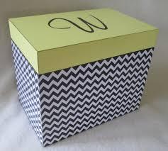 box personalized large 5x7 recipe box personalized greeting card storage box