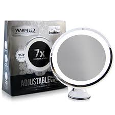 Lighted Makeup Vanity Mirror Adjustable 7x Magnification Lighted Makeup Vanity Mirror Review