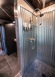 jump shack steel or galvanized metal shower nomadic shack