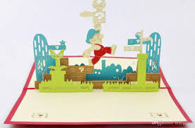 super mario pop up card 3d cards wedding 3d greeting card birthday