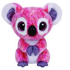 ty beanie boos kacey pink koala plush walmart