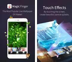 finger apk magicfinger live wallpaper diy apk version 1 1 7