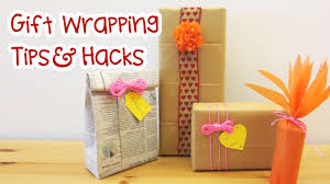 Diy Hacks Youtube by Gift Wrapping Tips And Hacks Sunny Diy Youtube
