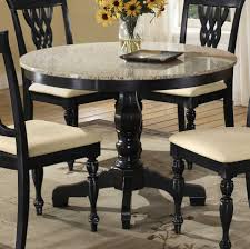 Black Round Dining Room Table by Awesome Decorating Ideas Using Rectangle Brown Wooden Tables In