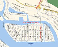 Map Of Orange County Ca Map Of Balboa Island Balboa Island And Misc Info Pinterest