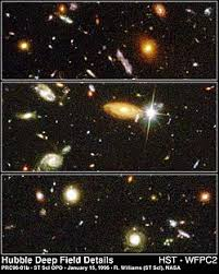 How Many Years Is A Light Year Hubble Deep Field Wikipedia