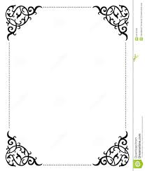 Blank Wedding Invitation Card Stock Printable Wedding Borders For Invitations U2013 Mini Bridal